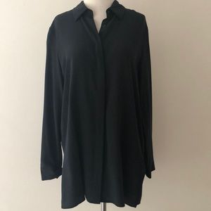 49324cc28a3c3 Acrobat Tops - NWT Acrobat Silk Relaxed Fit Blouse in Black